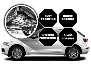 Rust Proofing Under Coating Interior Protection Glass Coating
